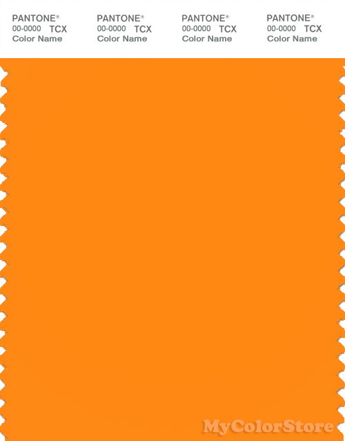 PANTONE SMART 15-1263X Color Swatch Card, Autumn Glory