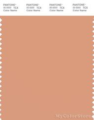 PANTONE SMART 15-1327X Color Swatch Card, Peach Bloom