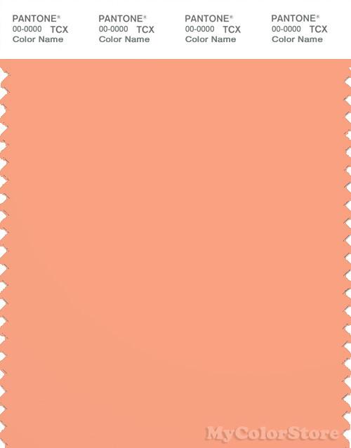 PANTONE SMART 15-1331X Color Swatch Card, Coral Reef