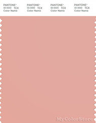 PANTONE SMART 15-1415X Color Swatch Card, Coral Cloud