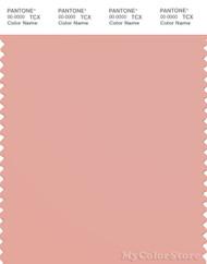 PANTONE SMART 15-1415X Color Swatch Card, Coral Cloud