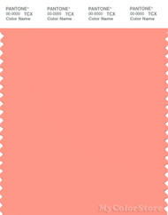 PANTONE SMART 15-1435X Color Swatch Card, Desert Flower