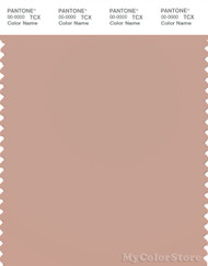 PANTONE SMART 15-1511X Color Swatch Card, Mahogany Rose