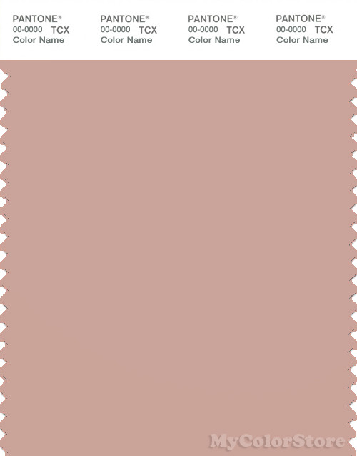 PANTONE SMART 15-1512X Color Swatch Card, Misty Rose