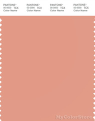 PANTONE SMART 15-1523X Color Swatch Card, Shrimp