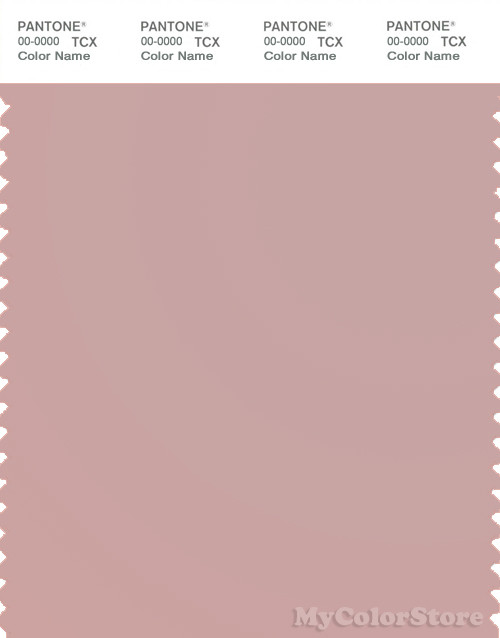 PANTONE SMART 15-1607X Color Swatch Card, Pale Mauve