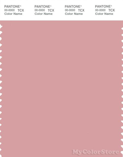 PANTONE SMART 15-1611X Color Swatch Card, Bridal Rose