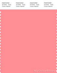 PANTONE SMART 15-1626X Color Swatch Card, Salmon Rose