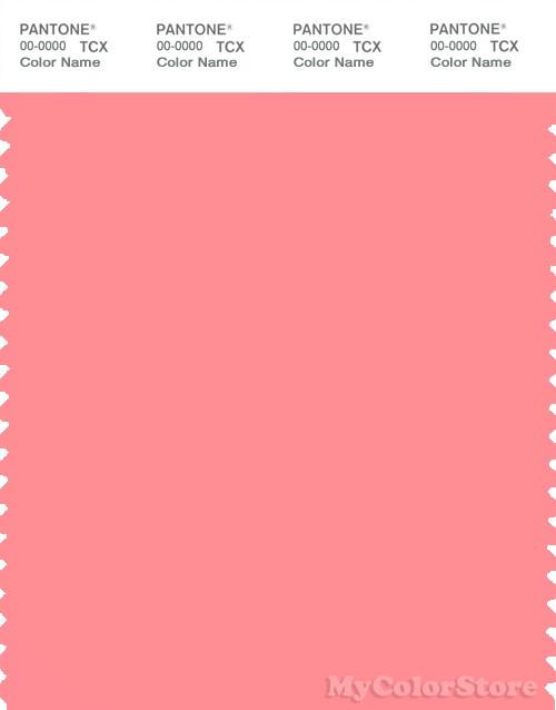 PANTONE SMART 15-1626X Color Swatch Card, Salmon Rose
