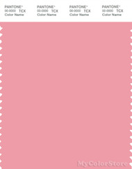 PANTONE SMART 15-1816X Color Swatch Card, Peony