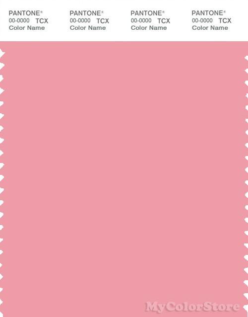 PANTONE SMART 15-1816X Color Swatch Card, Peony