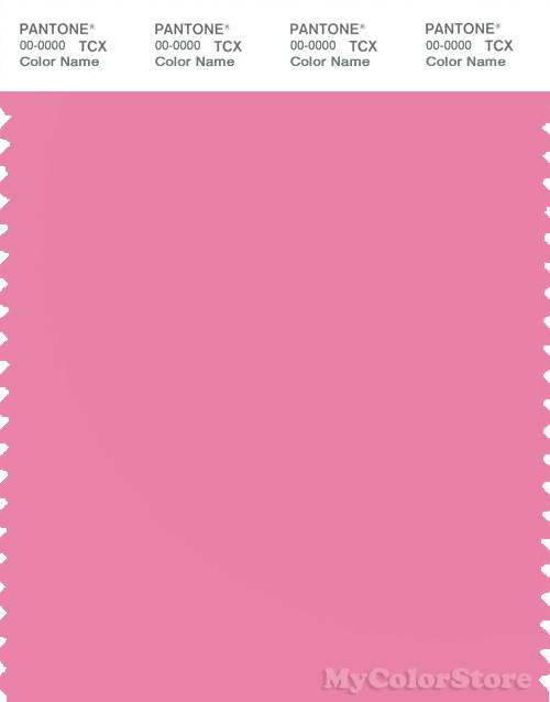 PANTONE SMART 15-2217X Color Swatch Card, Aurora Pink