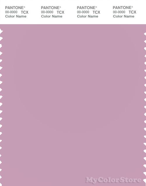 PANTONE SMART 15-3207X Color Swatch Card, Mauve Mist