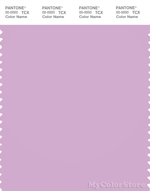 PANTONE SMART 15-3412X Color Swatch Card, Orchid Bouquet