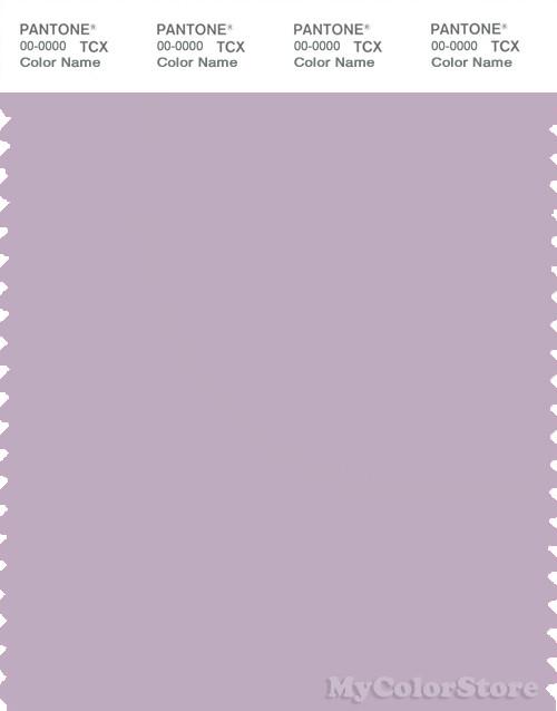 PANTONE SMART 15-3507X Color Swatch Card, Lavender Frost