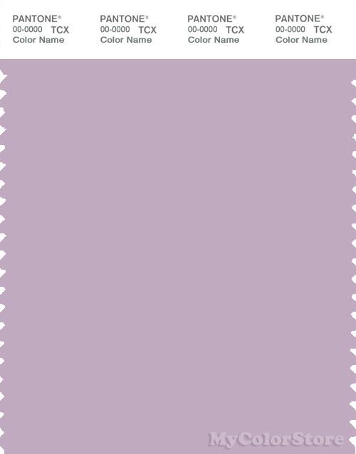 PANTONE SMART 15-3508X Color Swatch Card, Fair Orchid