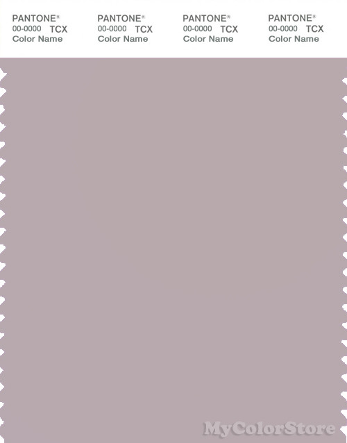 PANTONE SMART 15-3802X Color Swatch Card, Cloud Gray