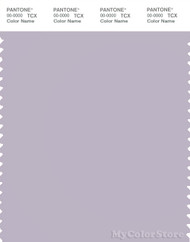 PANTONE SMART 15-3807X Color Swatch Card, Misty Lilac