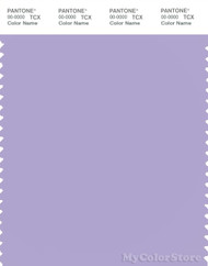 PANTONE SMART 15-3817X Color Swatch Card, Lavender