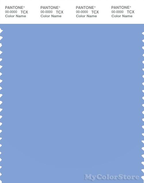 PANTONE SMART 15-3930X Color Swatch Card, Vista Blue