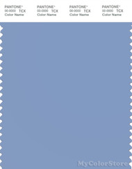 PANTONE SMART 15-3932X Color Swatch Card, Bel Air Blue