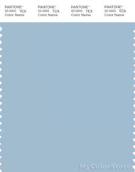 PANTONE SMART 15-4005X Color Swatch Card, Dream Blue