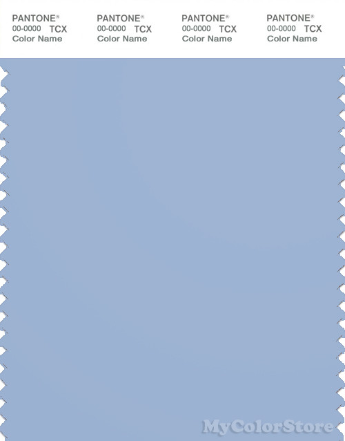 PANTONE SMART 15-4030X Color Swatch Card, Chambray Blue
