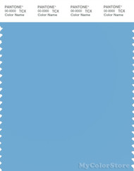 PANTONE SMART 15-4225X Color Swatch Card, Alaskan Blue