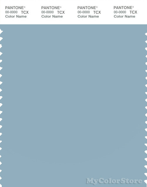 PANTONE SMART 15-4312X Color Swatch Card, Forget-me-not