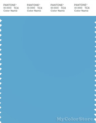 PANTONE SMART 15-4323X Color Swatch Card, Ethereal Blue