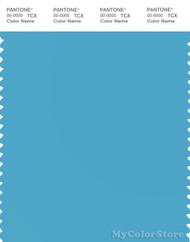 PANTONE SMART 15-4427X Color Swatch Card, Norse Blue