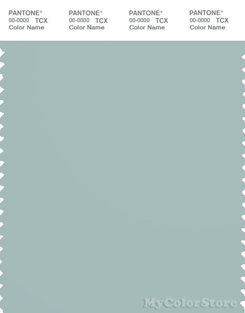 PANTONE SMART 15-4707X Color Swatch Card, Blue Haze