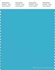 PANTONE SMART 15-4720X Color Swatch Card, River Blue