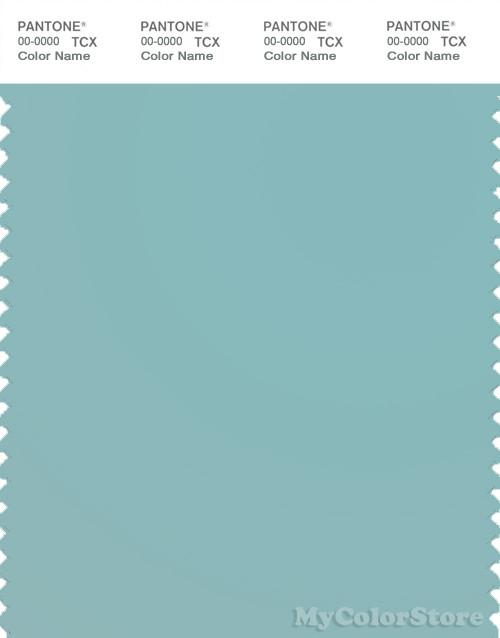 PANTONE SMART 15-5209X Color Swatch Card, Aqua Haze