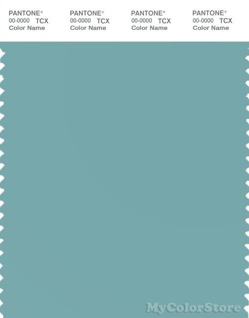 PANTONE SMART 15-5210X Color Swatch Card, Nile Blue