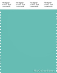 PANTONE SMART 15-5218X Color Swatch Card, Pool Blue