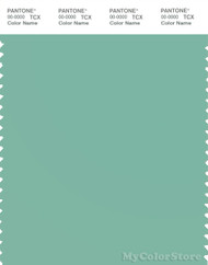 PANTONE SMART 15-5711X Color Swatch Card, Dusty Jade Green