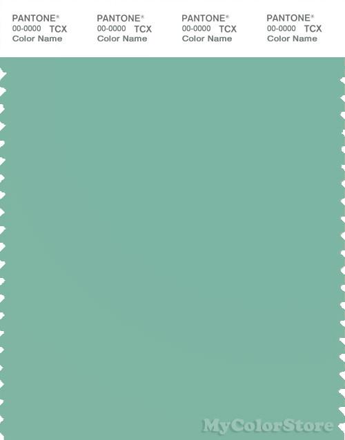 PANTONE SMART 15-5711X Color Swatch Card, Dusty Jade Green