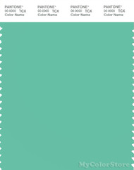 PANTONE SMART 15-5819X Color Swatch Card, Spearmint