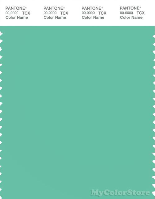 PANTONE SMART 15-5819X Color Swatch Card, Spearmint