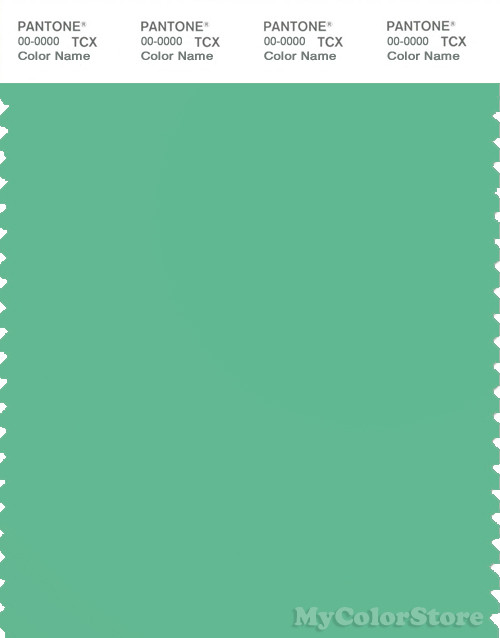 PANTONE SMART 15-6123X Color Swatch Card, Jade Cream