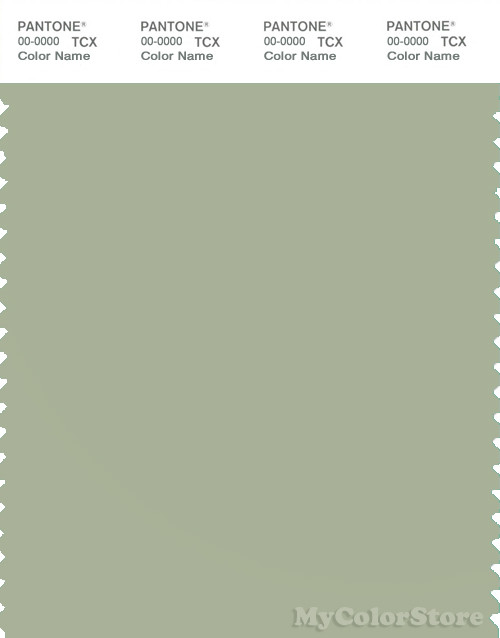 PANTONE SMART 15-6310X Color Swatch Card, Swamp