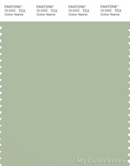 PANTONE SMART 15-6313X Color Swatch Card, Laurel Green