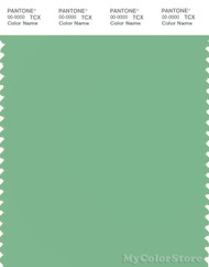 PANTONE SMART 15-6322X Color Swatch Card, Light Grass Green
