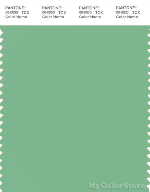 PANTONE SMART 15-6322X Color Swatch Card, Light Grass Green