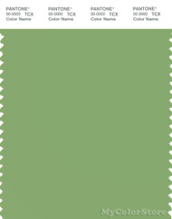 PANTONE SMART 15-6428X Color Swatch Card, Green Tea