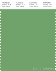 PANTONE SMART 15-6432X Color Swatch Card, Shamrock