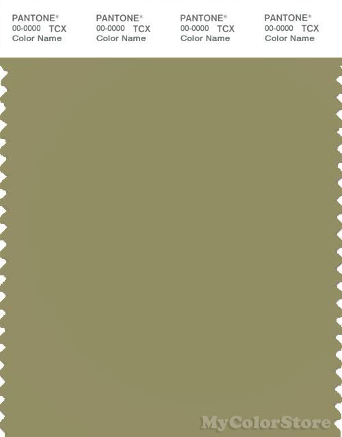 PANTONE SMART 16-0526X Color Swatch Card, Cedar