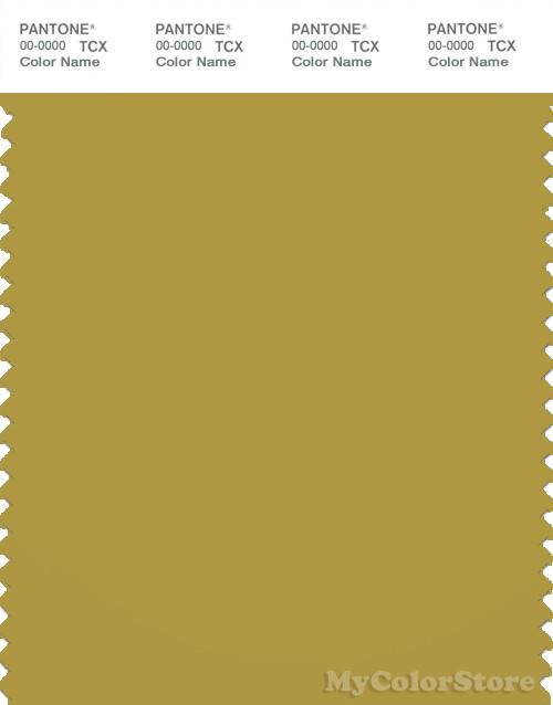 PANTONE SMART 16-0639X Color Swatch Card, Golden Olive