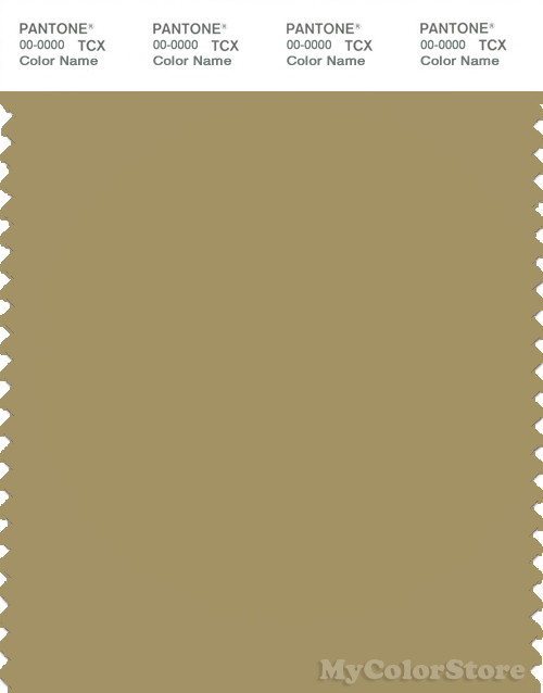 PANTONE SMART 16-0726X Color Swatch Card, Khaki